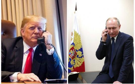 Трамп поговорил со своим другом Владимиром из Москвы