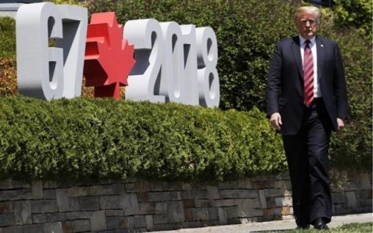 Скандальное завершение Саммита G-7 в Канаде