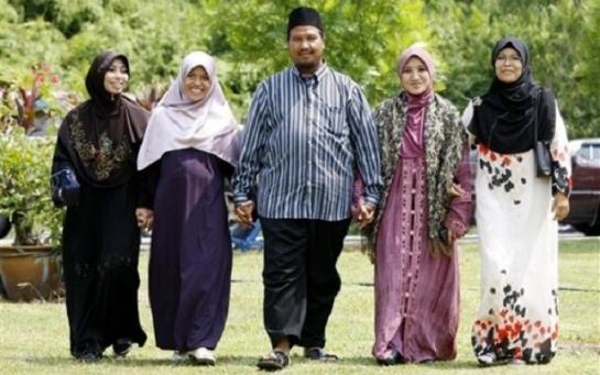 Несколько фактов о полигамии в Малайзии