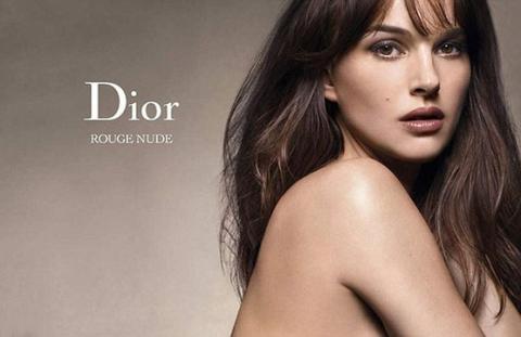 Натали Портман обнажилась для Dior