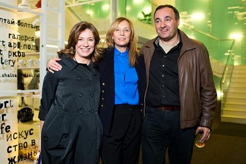 Валерия Роднянская и Айдан Салахова представили совместный арт-проект