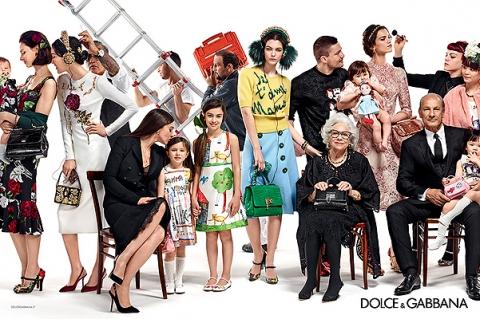 Семейные ценности: рекламная кампания Dolce&Gabbana