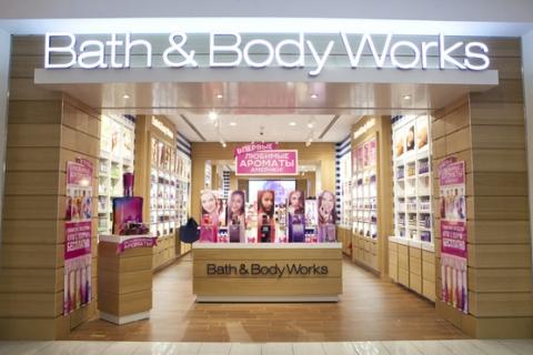 Bath&Body Works представил в Москве свой первый «аромагардероб»