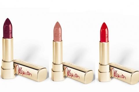Моника Беллуччи представила собственную коллекцию помад Dolce & Gabbana