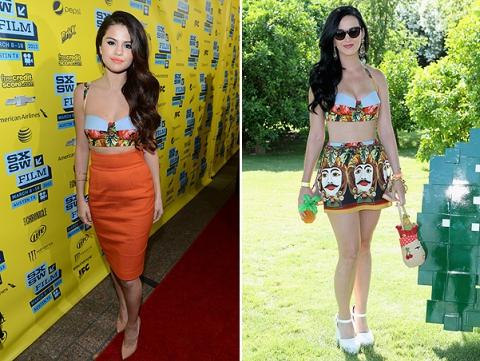 Битва Dolce&Gabbana: Селена Гомес против Кэти Перри