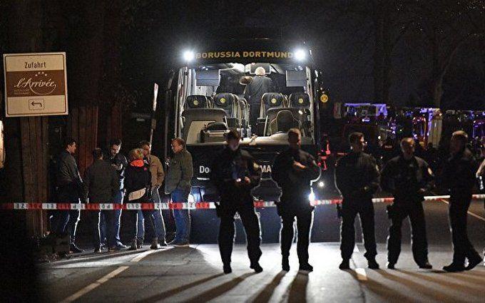 """Взрывы у автобуса дортмундской """"Боруссии"""": в Германии задержали подозреваемого россиянина"""