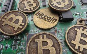 Bitcoin снова резко упал