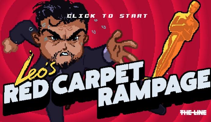 Ди Каприо стал героем игры про погоню за Оскаром