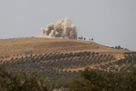 Армія Асада за підтримки російської авіації почала наступ під Алеппо