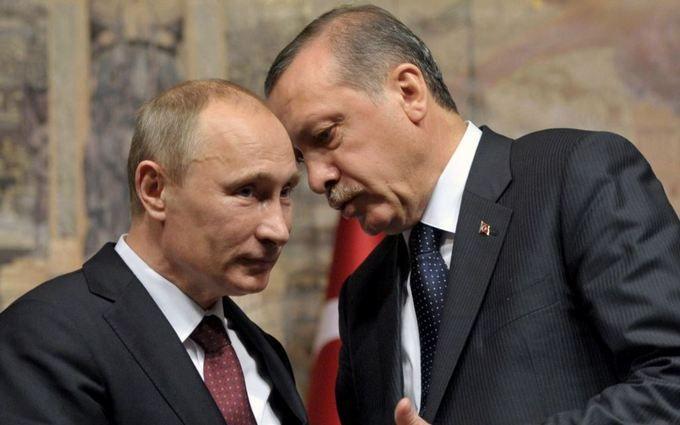 Нову дружбу Путіна з Ердоганом висміяли смішною карикатурою
