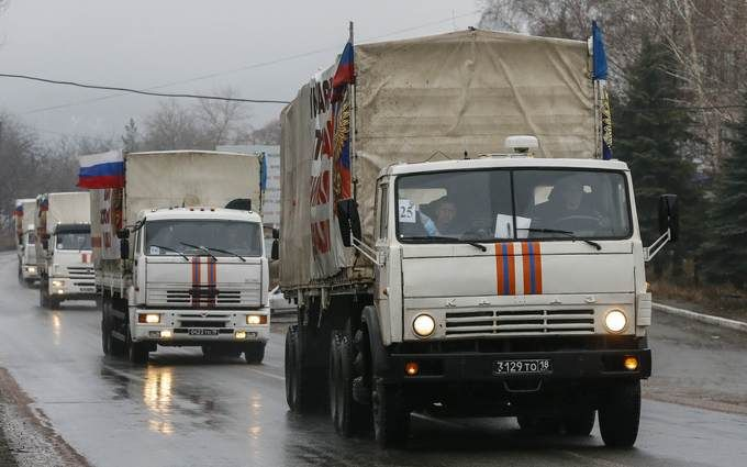 """Росія передала нову """"гумдопомогу"""" бойовикам """"ЛДНР"""""""