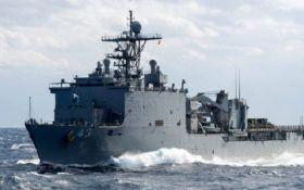 В Черное море срочно направляется военный корабль НАТО