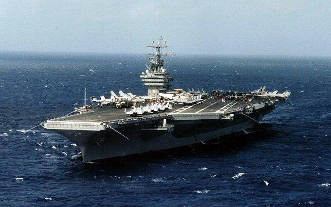 «Голос Америки» проинформировал отретьем авианосце США, направленном кКорейскому полуострову