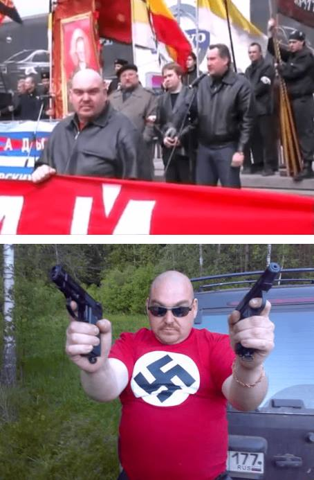 У Росії побачили нациста в оточенні Путіна: з'явилося відео (1)