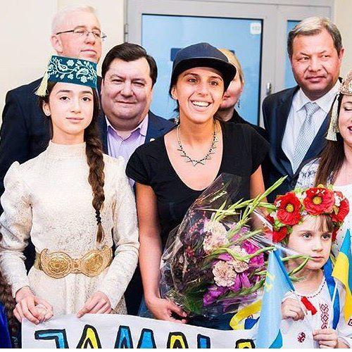 Джамала прогулялась по Вильнюсу перед концертом: опубликованы фото и видео (1)