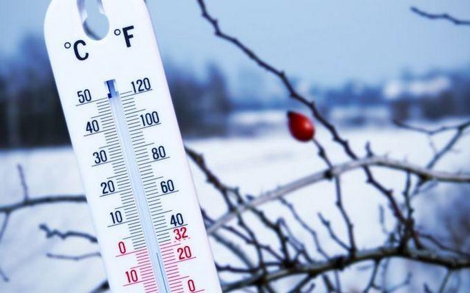 «Вторгнення арктичного повітря»: вУкраїну йдуть морози до-25