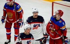 Хокеїсти США перемогли Росію в битві за перше місце: опубліковано відео