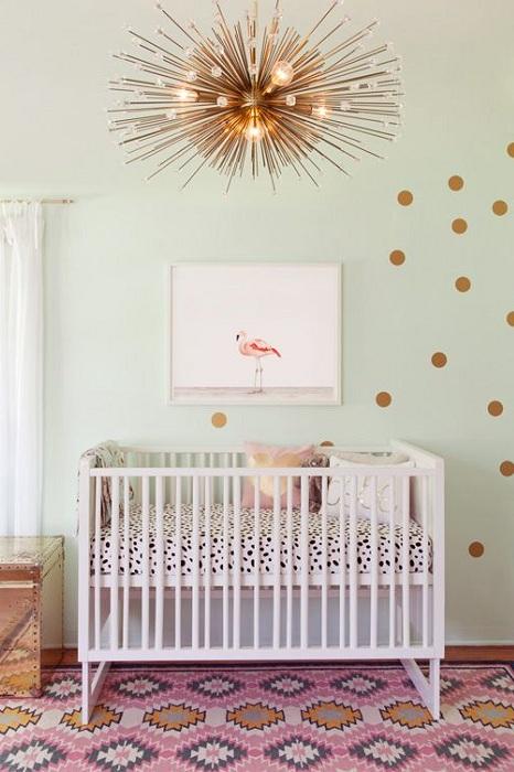 Круті ідеї, який допоможуть з оформленням дитячої спальні в стилі Mid-centry modern (17 фото) (16)