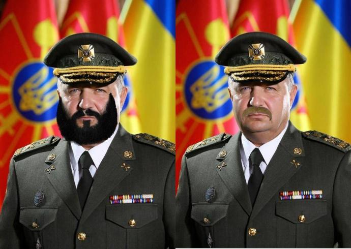 До такої форми потрібні вуса: соцмережі вибухнули фотожабами з міністром оборони (1)