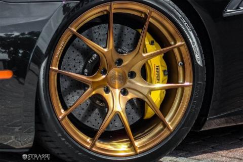 Ferrari California на дисках від Strasse Wheels (10 фото) (9)