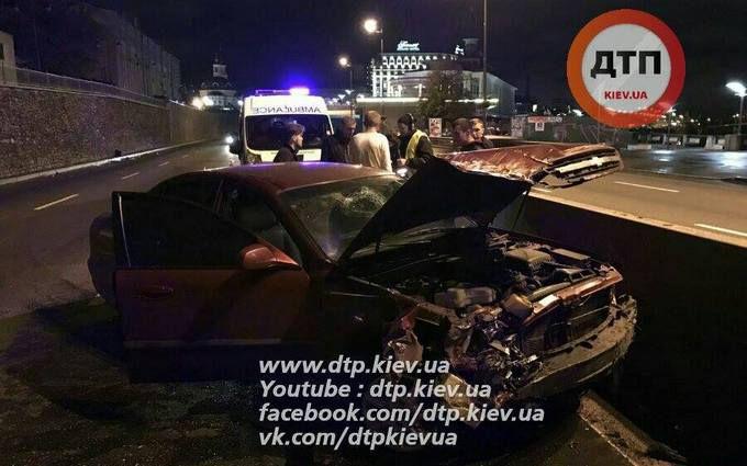 П'яні гості Києва влаштували в столиці серйозну ДТП: з'явилися фото