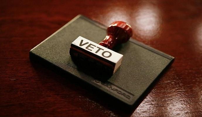 Парламент не преодолел вето президента на закон об органах внутренних дел