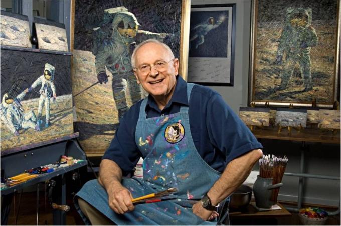 Помер відомий астронавт-рекордсмен, який побував на Місяці (2)
