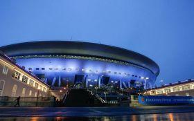 Новый пафосный футбольный стадион в России вызвал шкал насмешек в сети: появились фото и видео