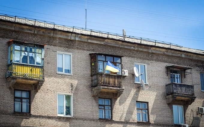 За флаг Украины на балконе жителя Брянска им занялась полиция