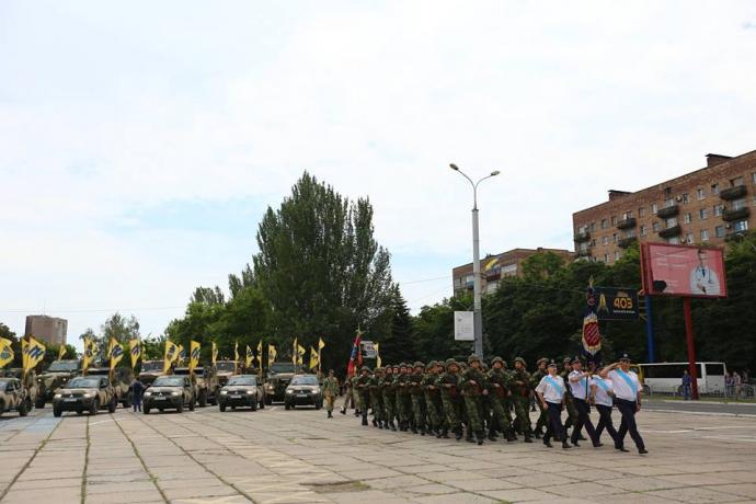 Маріуполь відзначає річницю звільнення від бойовиків: опубліковані фото (1)