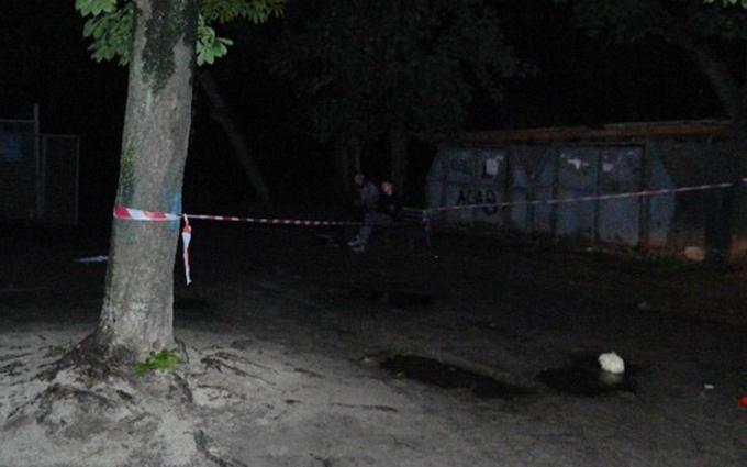 Стрілянина з убивством у Києві: опубліковані фото з місця подій