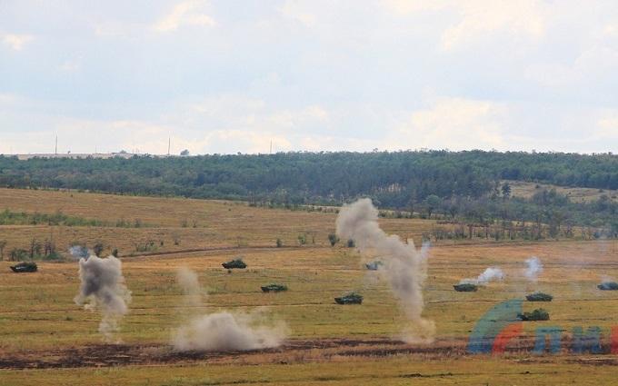 Бойовики ДНР вчаться наступати: опубліковані фото