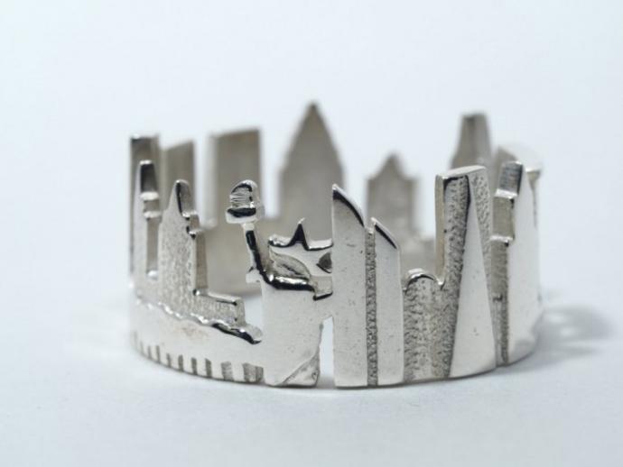 Драгоценные кольца с городскими пейзажами (22 фото) (15)