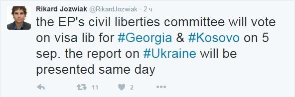 Стало відомо, коли Європарламент займеться безвізовим режимом з Україною (1)