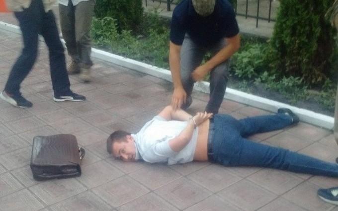 Затримання молдавського бізнесмена в Києві: з'явилися фото і відео