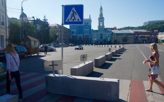 На Подоле в Киеве создали экспериментальную пешеходную зону: появились фото (2)
