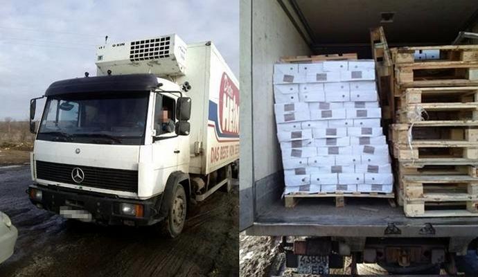 СБУ затримала в районі проведення АТО контрабанду товарів на 300 000 грн