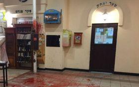 Поліція показала чоловіка, що напав на синагогу в Умані