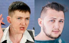 Савченко жорстко насварила путінського в'язня Афанасьєва, який критикував її