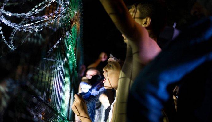 В Германии участились нападения на мигрантов