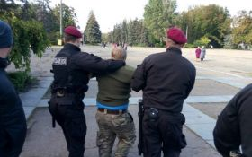 Опубліковано відео бійки з фанатами Росії в Одесі