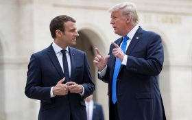 Дуже прикро і образливо: Трамп жорстко відповів Макрону за заклик захищатися від США