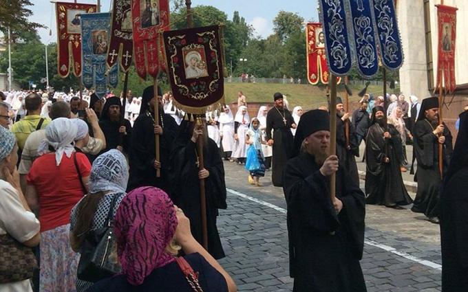 Хресна хода в Києві: стало відомо про перші затримання