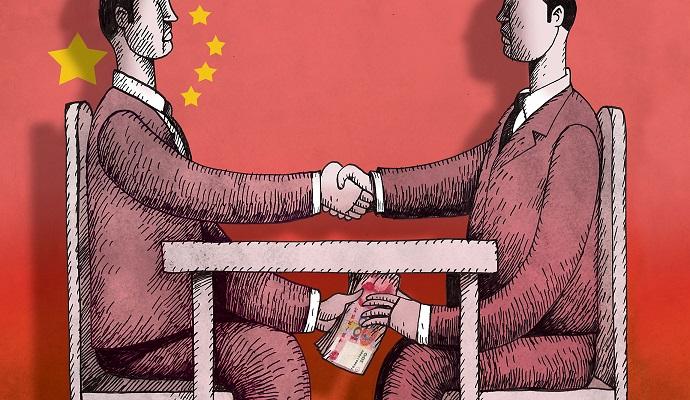 Китайський губернатор підозрюється в корупції