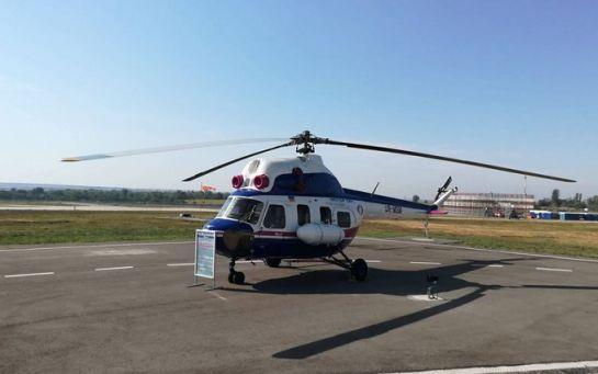 В Запорожье представили первый украинский вертолет: опубликованы фото