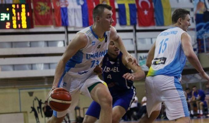 Украина проиграла Израилю на молодежном Евробаскете
