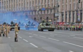 Парад до Дня Незалежності України 2018: з'явилися видовищні відео репетиції