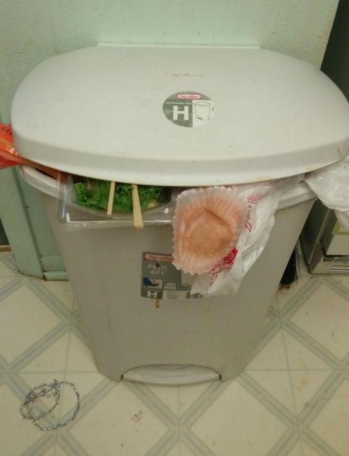 Мама через інтернет змусила сина винести сміття: опубліковані фото (1)