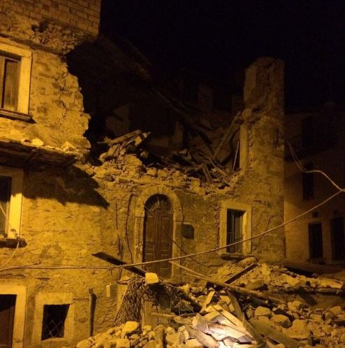 В Італії стався потужний землетрус, є загиблі: опубліковані фото та відео (2)