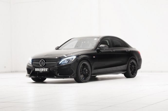 Компания Brabus преобразила Mercedes-Benz C 450 AMG Sport (1)